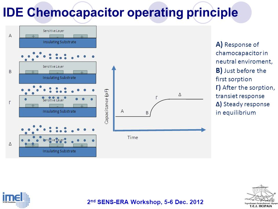IDE Chemocapacitor operating principle