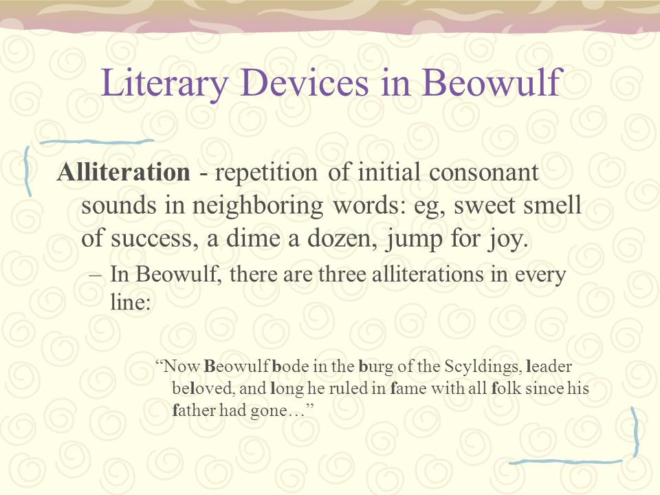 a literary analysis of the folk epic beowulf An analysis of beowulf as the epic poem in anglo-saxon times  the brave  hero english literature begins with beowulf, an anglo-saxon folk epic written by  an.