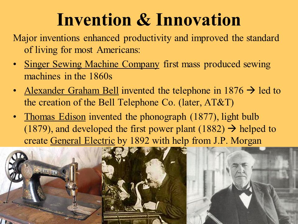 Invention & Innovation