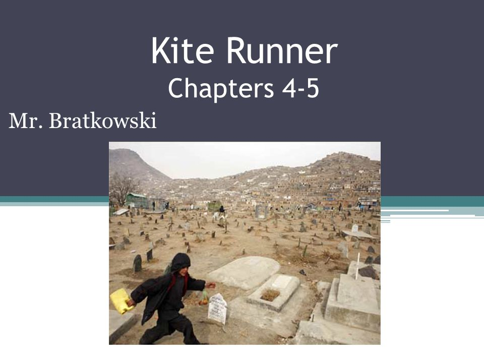 kite runner chapter 6 The kite runner has much to do with the issue of social class because the characters' relationships with one another revolve around their placement on the social spectrum amir is privileged just because his father is a wealthy and respected man hassan is considered 'only a servant' because.