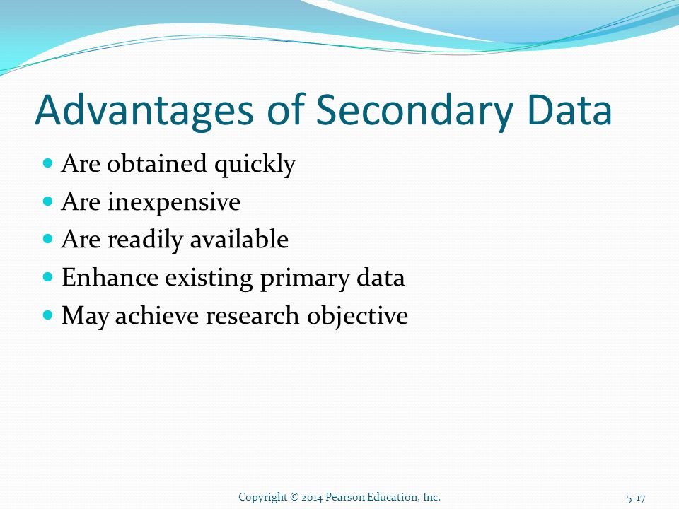 Which of the following is a limitation of secondary data not found in primary data