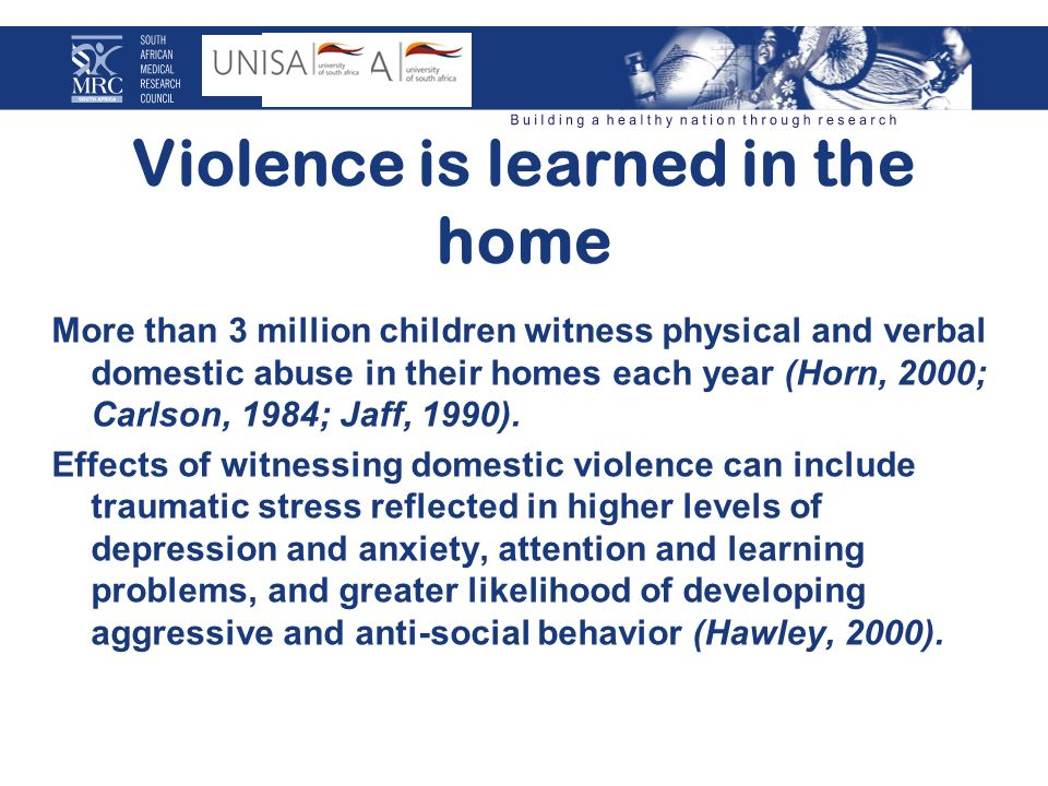 Outline of domestic violence