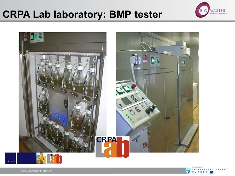 CRPA Lab laboratory: BMP tester