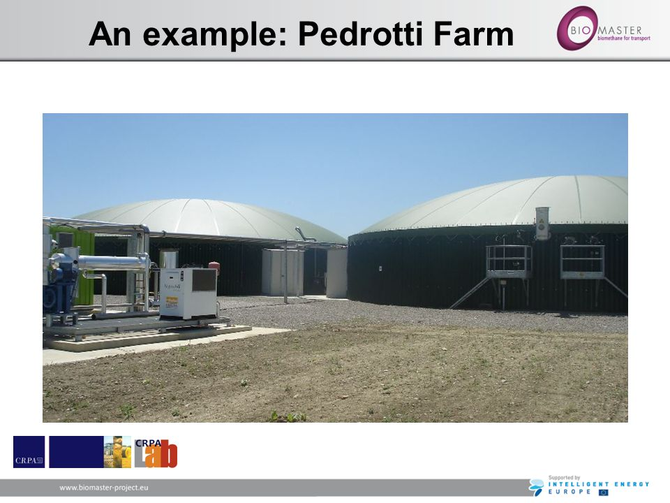 An example: Pedrotti Farm