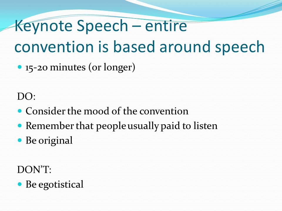 """praise speeches """"speeches"""" can be intimidating, but """"presentations"""" and """"pep talks"""" can be less so when your employees need to feel good, rally them through."""