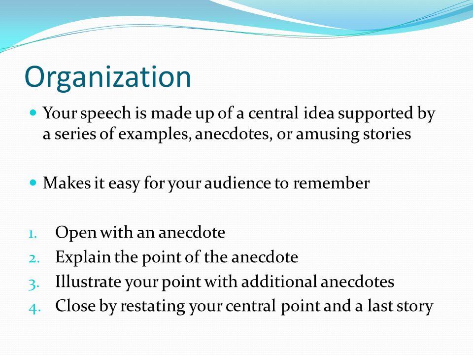 informative process speech outline