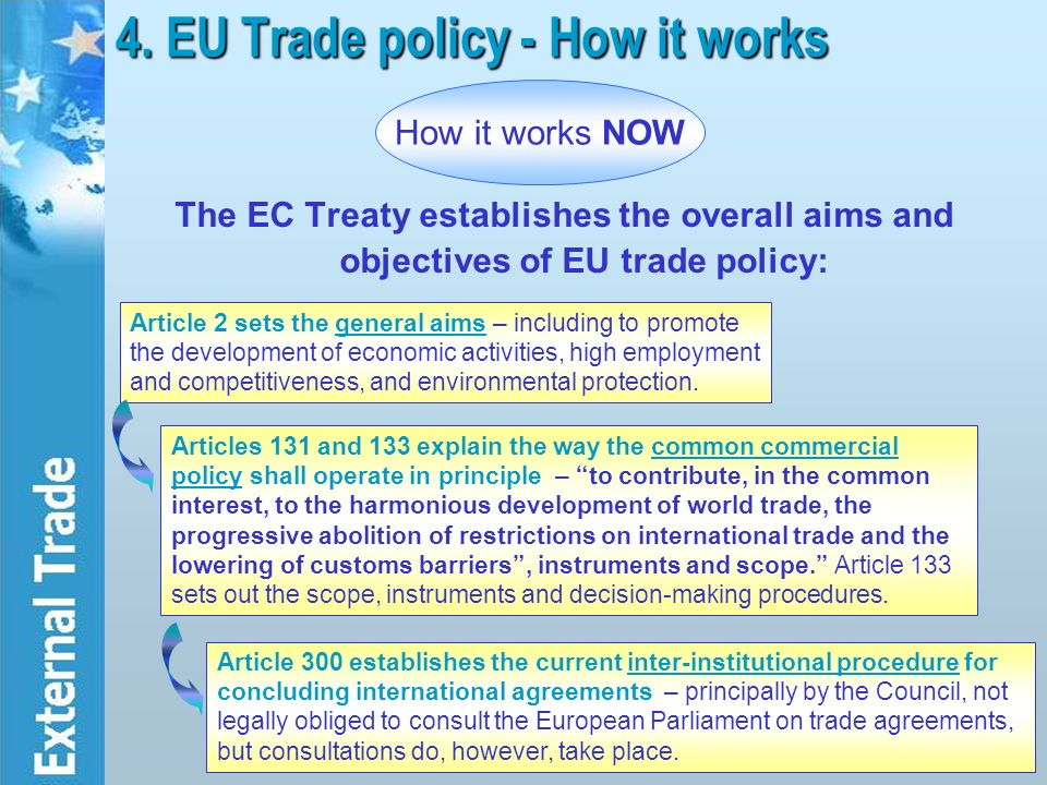Eu common commercial policy essay