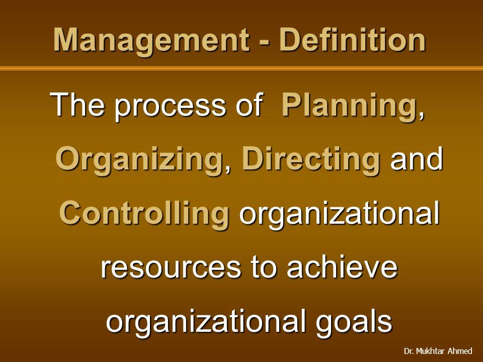 Management - Definition