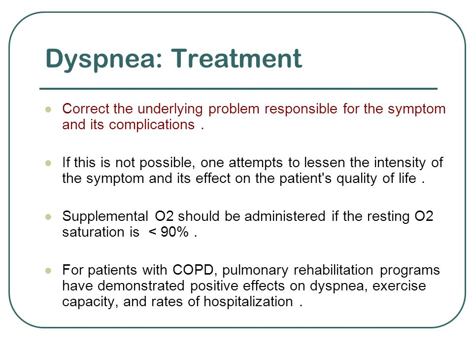 the effectiveness of oxygen versus opioid in treating dyspnea The effects of oxygen on the intensity of dyspnea in hypoxemic terminal cancer patients  of action of opioids in treating dyspnea,  the same modalities of .