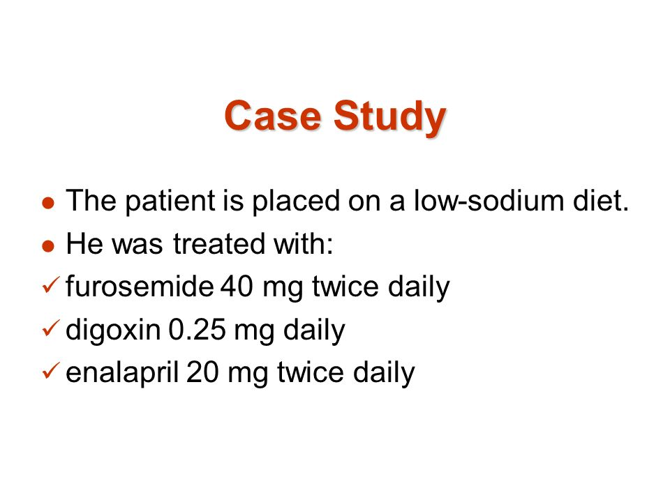 case study on a patient with heart failure Hemodynamic case study: maximum lv dp/dtmax achieved with multipoint  pacing as measured by non-invasive means in a terminal heart failure patient .