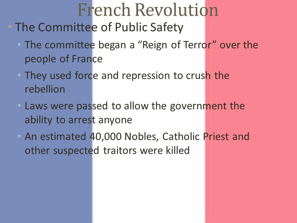 French Revolution. - ppt download