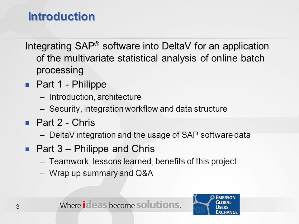 412 integrating sap software into deltav ppt download for Delta v architecture
