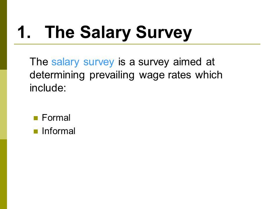 Pay Plans Rewards Management ppt download – Salary Survey Questionnaire
