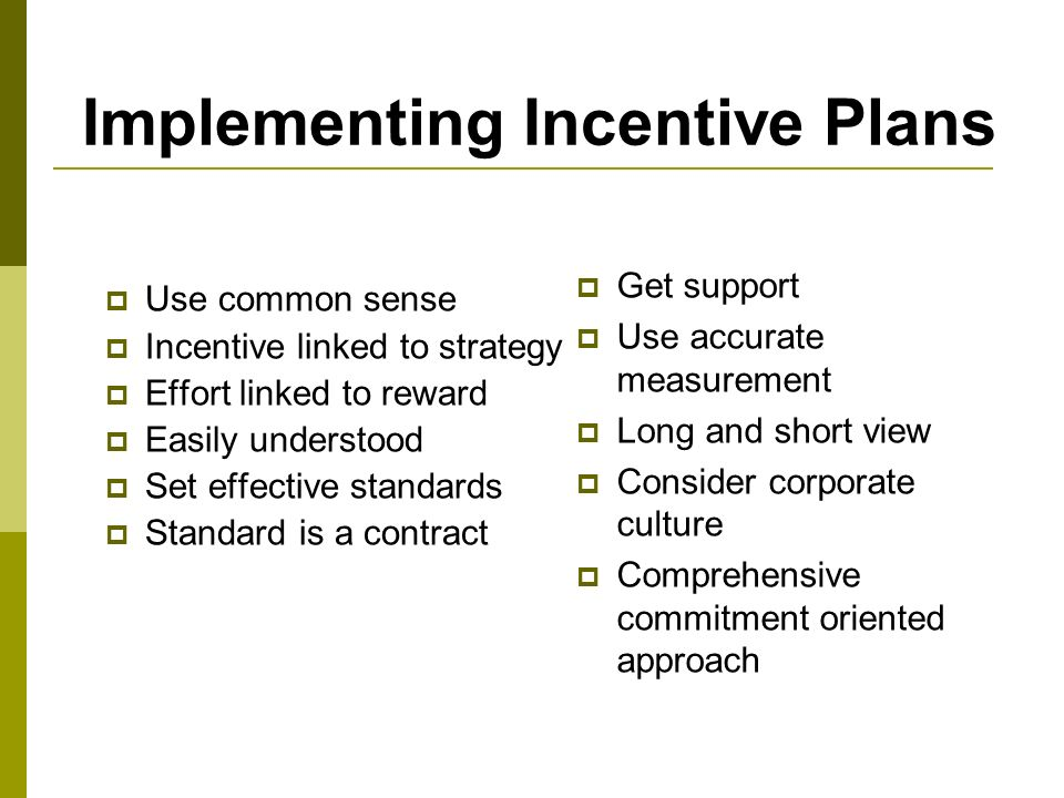 Pay plans rewards management ppt download Best practices sales incentive plan design