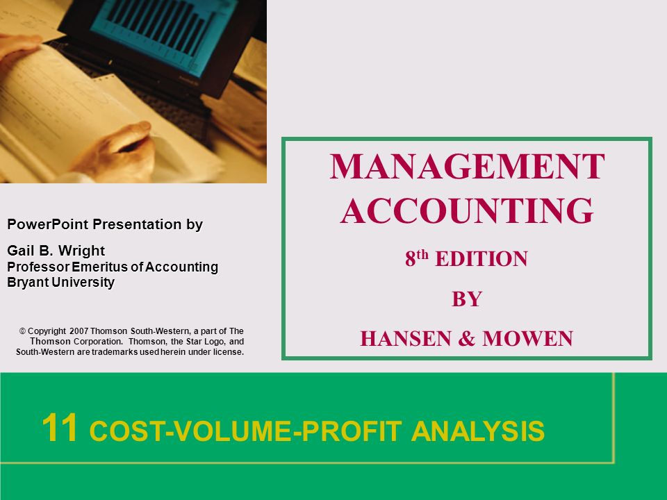 What is Management Accounting Change?