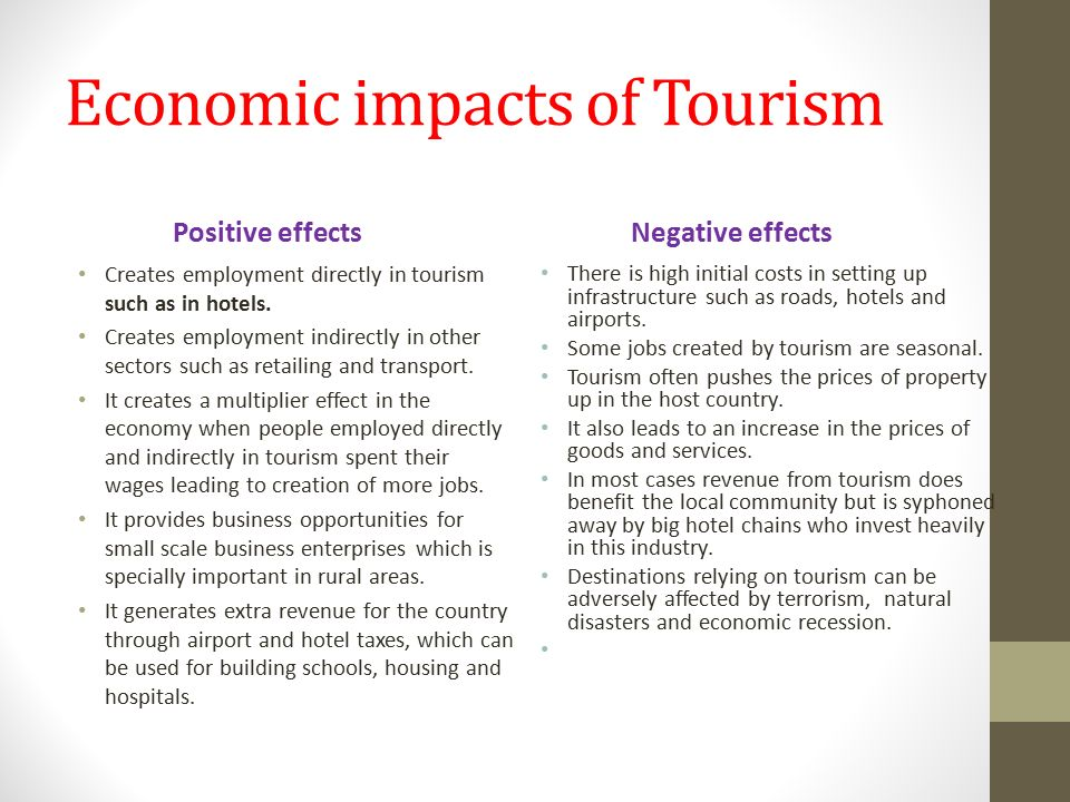 Growth of Tourism in India: Its impact on Employment and Economic Development
