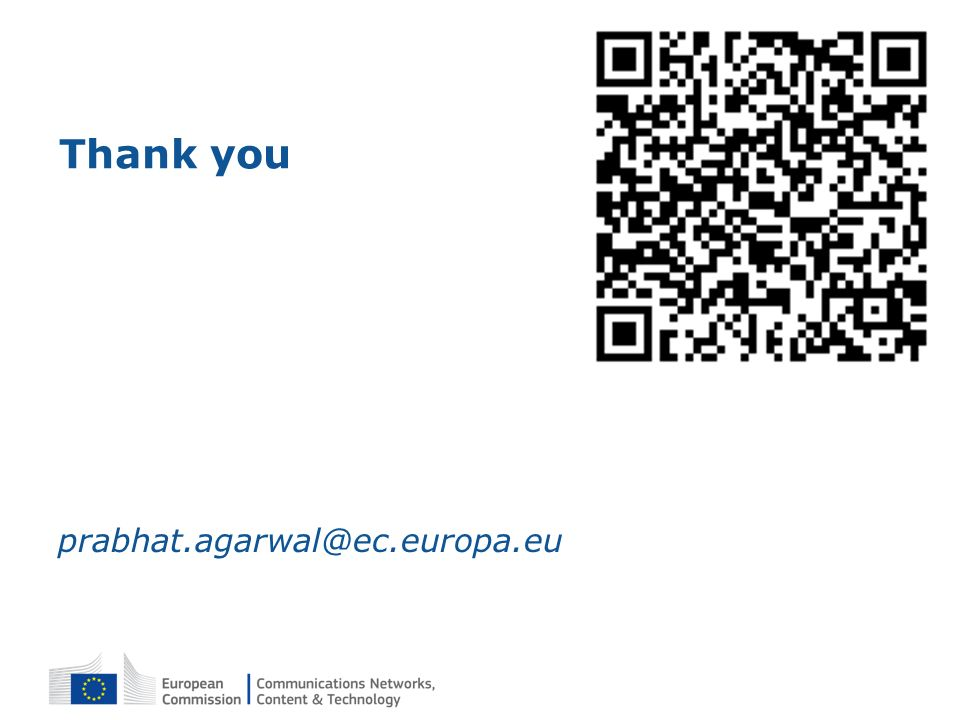 Thank you prabhat.agarwal@ec.europa.eu