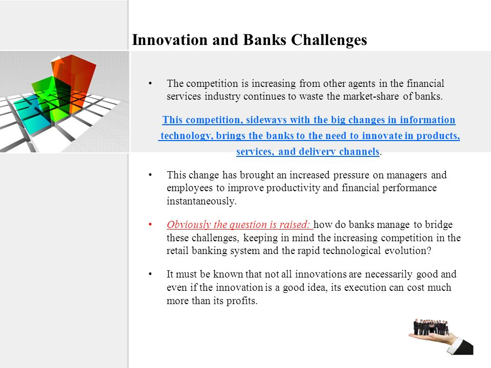 Innovation and Banks Challenges