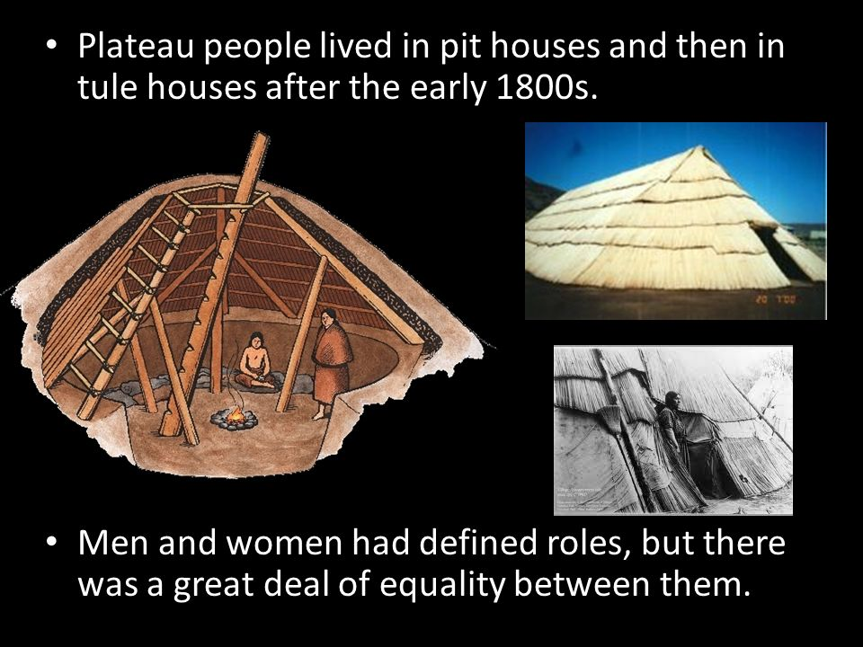 a description of how the plateau indians lived Place-names very frequently are descriptive of biological and topographic features of sites many sahaptin acterize a columbia plateau indian vision of an indigenous land- scape this land is now carved up by sahaptin who still live within their traditional home range they are among some 13,000 enrolled members of.