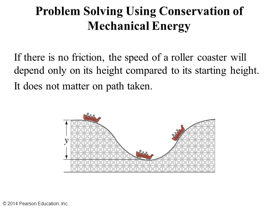 how to do conservation of energy problems