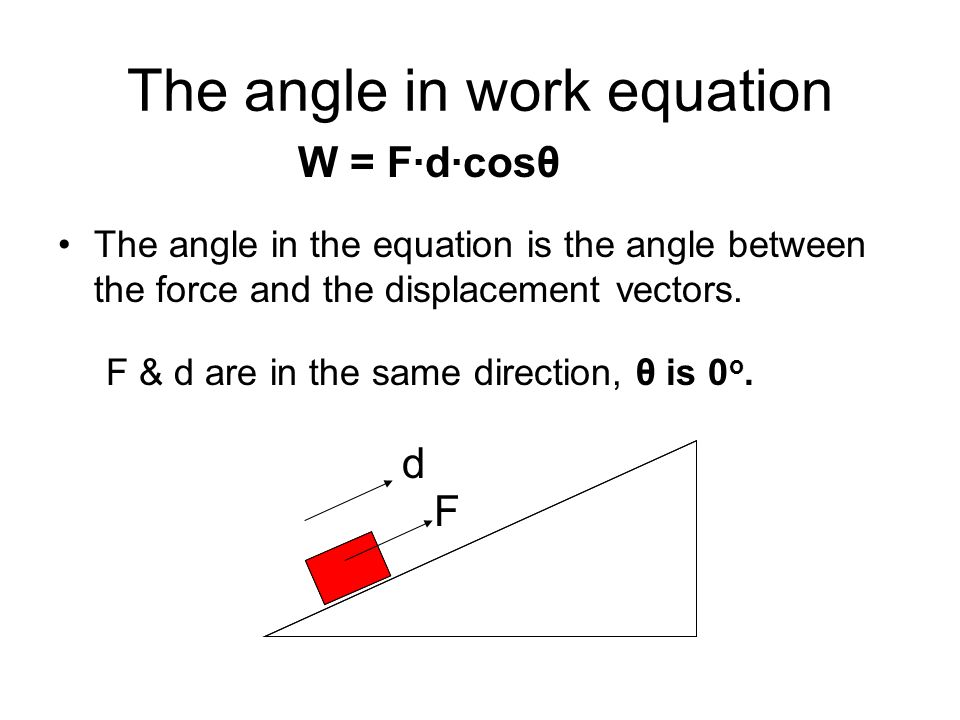 Physics - Ch 8 - Work and Energy Notes - ppt download