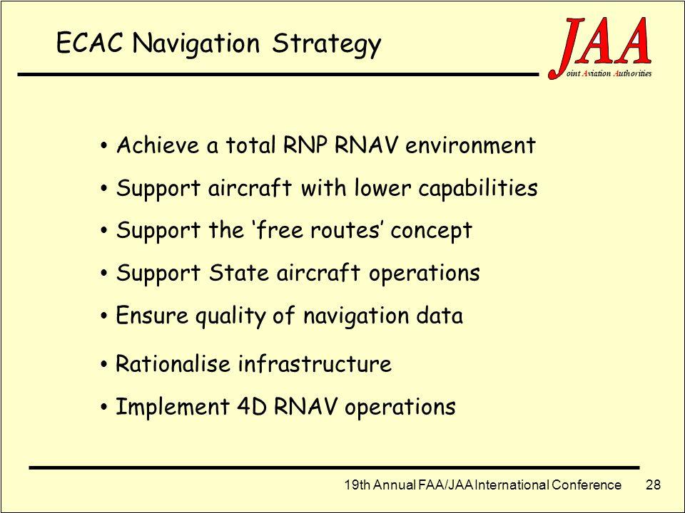 ECAC Navigation Strategy
