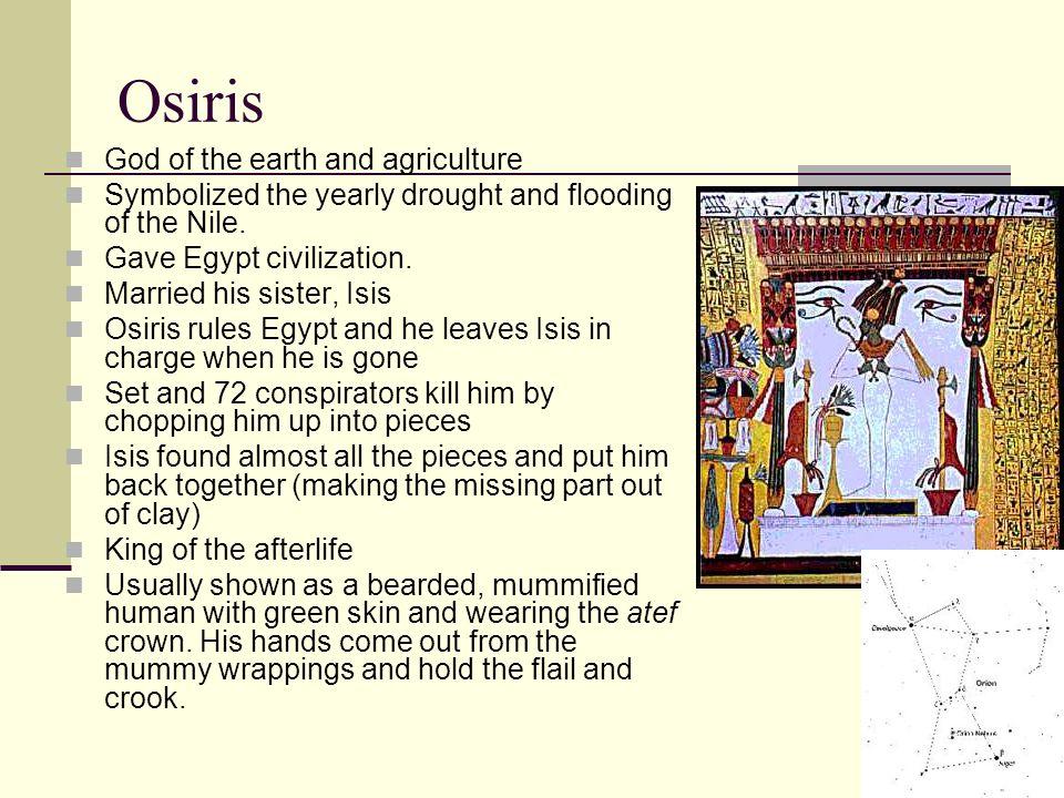 Egyptian Gods & Goddess - ppt video online download