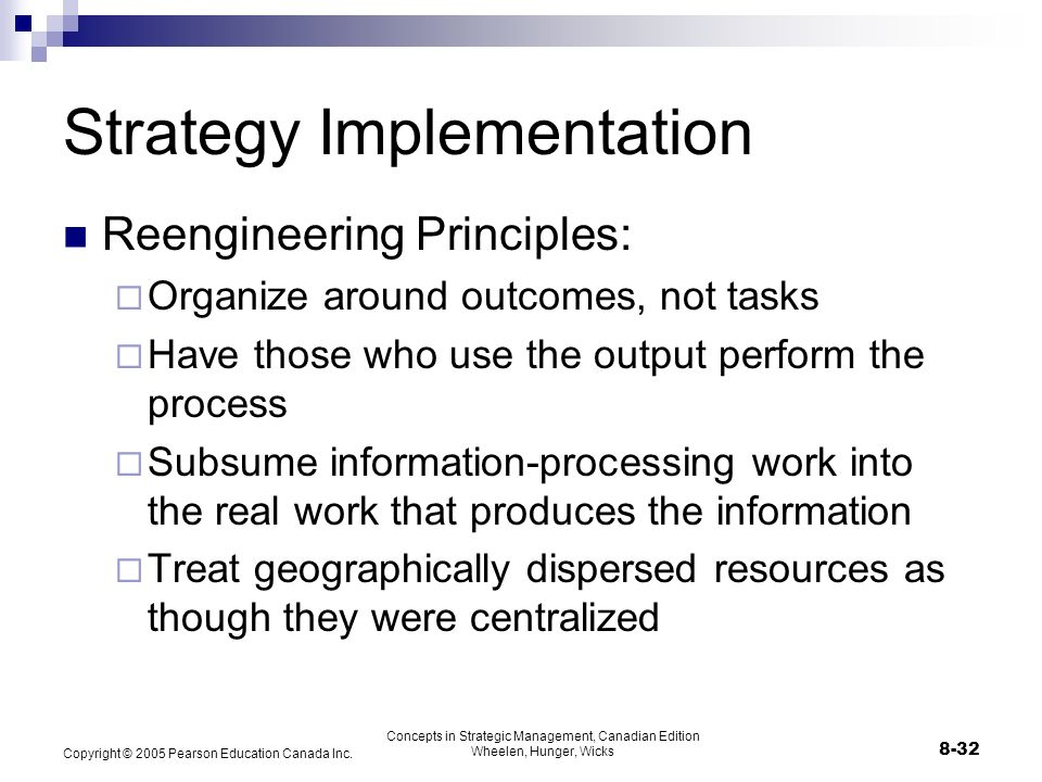 is reengineering and strategy implementation just Strategy development  people 4 implementation – realization of technical and social  business process reengineering 2013 - bpr lifecycle.