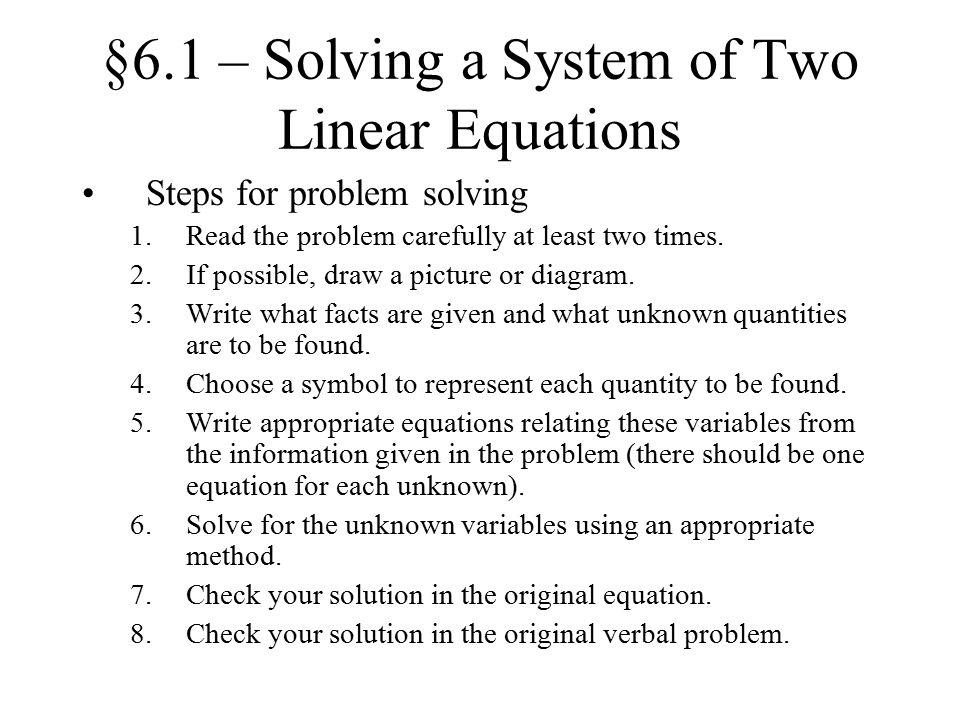 Write a system of equations that has no solution?