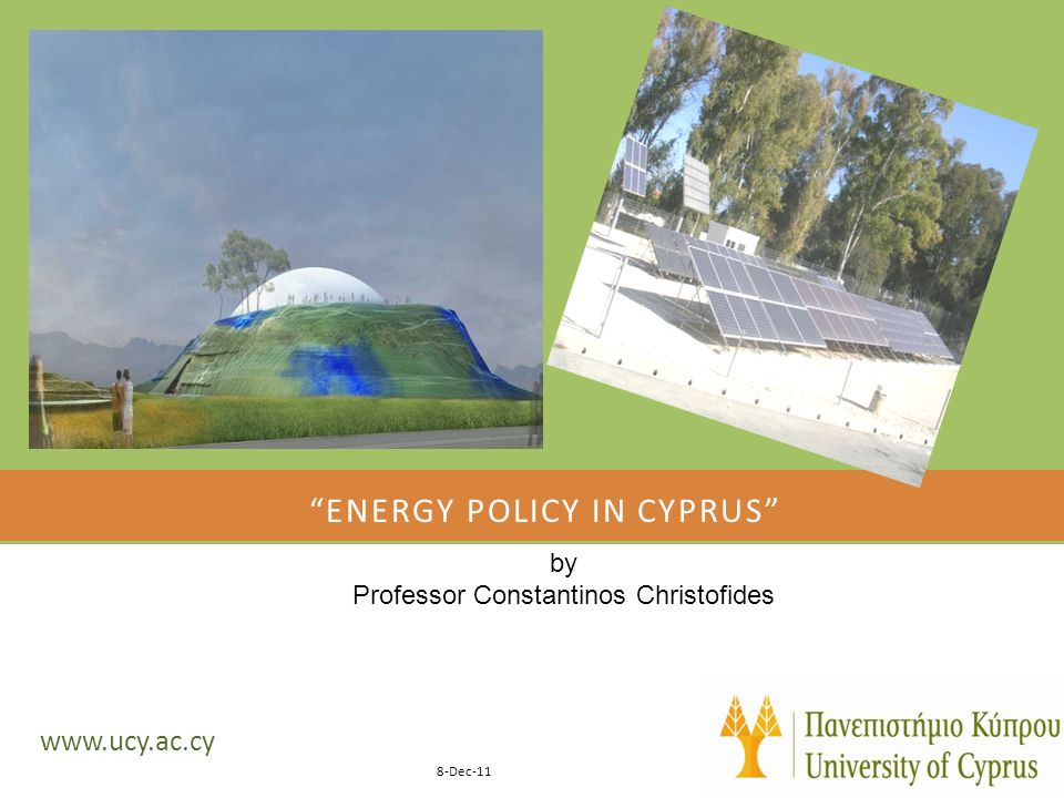 Energy policy in cyprus