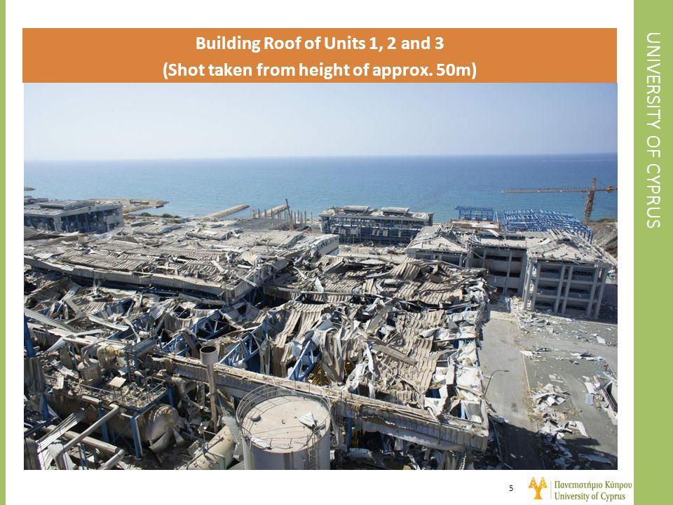 UNIVERSITY OF CYPRUS Building Roof of Units 1, 2 and 3