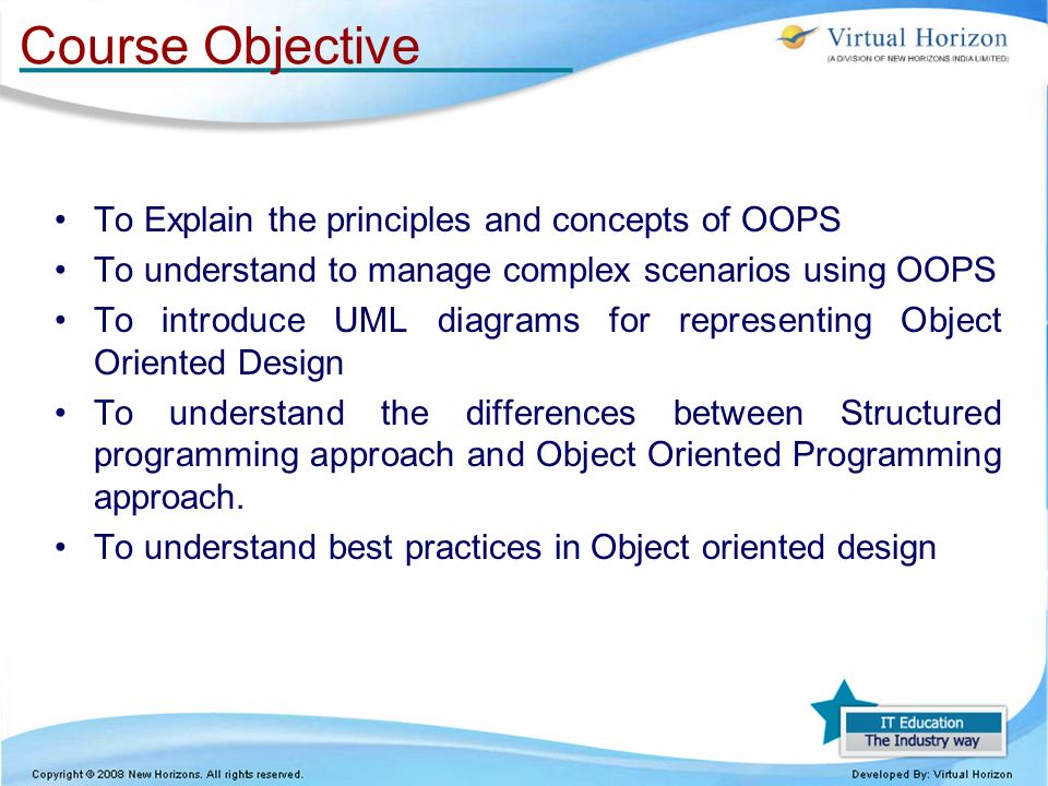 Object-oriented versus structured methodology