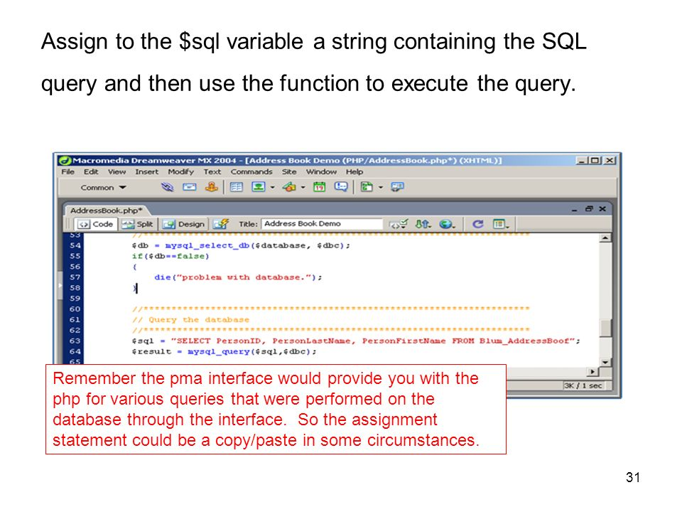 How to use variable in mysql query