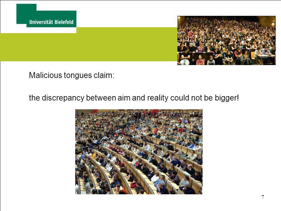 Malicious tongues claim: