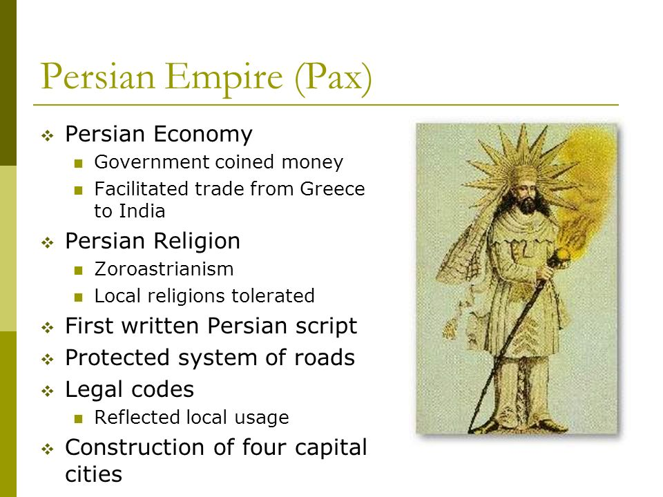 Persian Empire Darius The Classical Empires ...
