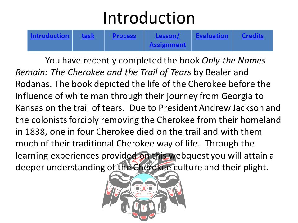 The Cherokee Indians and the Trail of Tears ppt download – Trail of Tears Worksheet