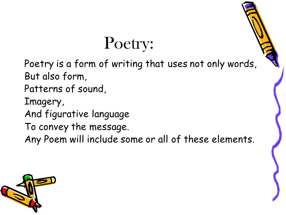 Diction, Imagery, Detail, and Syntax in Poetry Essay Sample