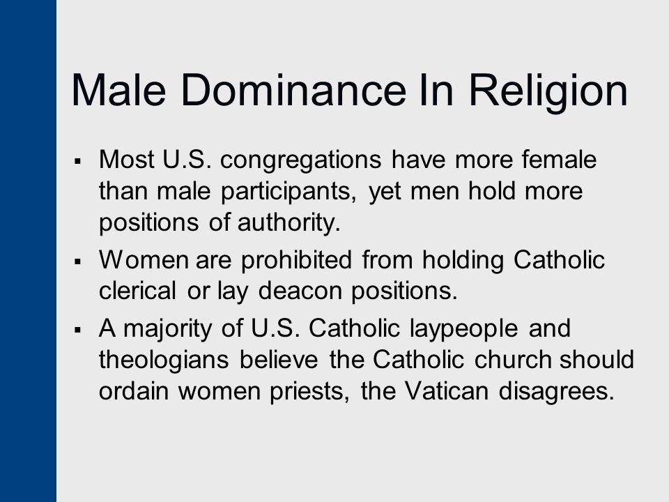 Male Dominance In Religion