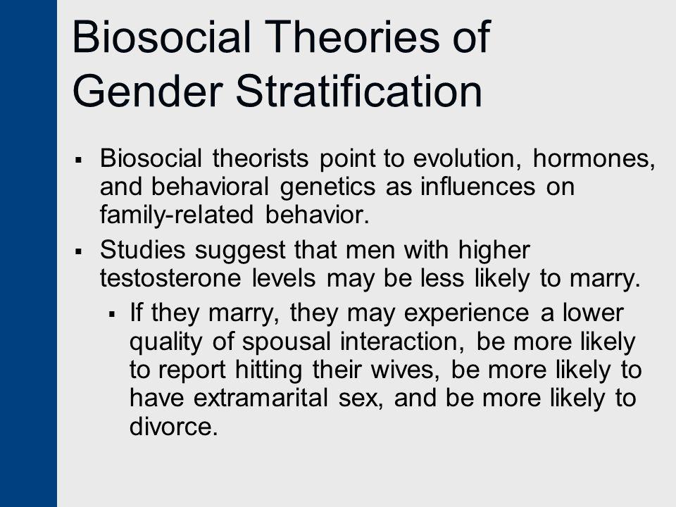 Biosocial Theories of Gender Stratification