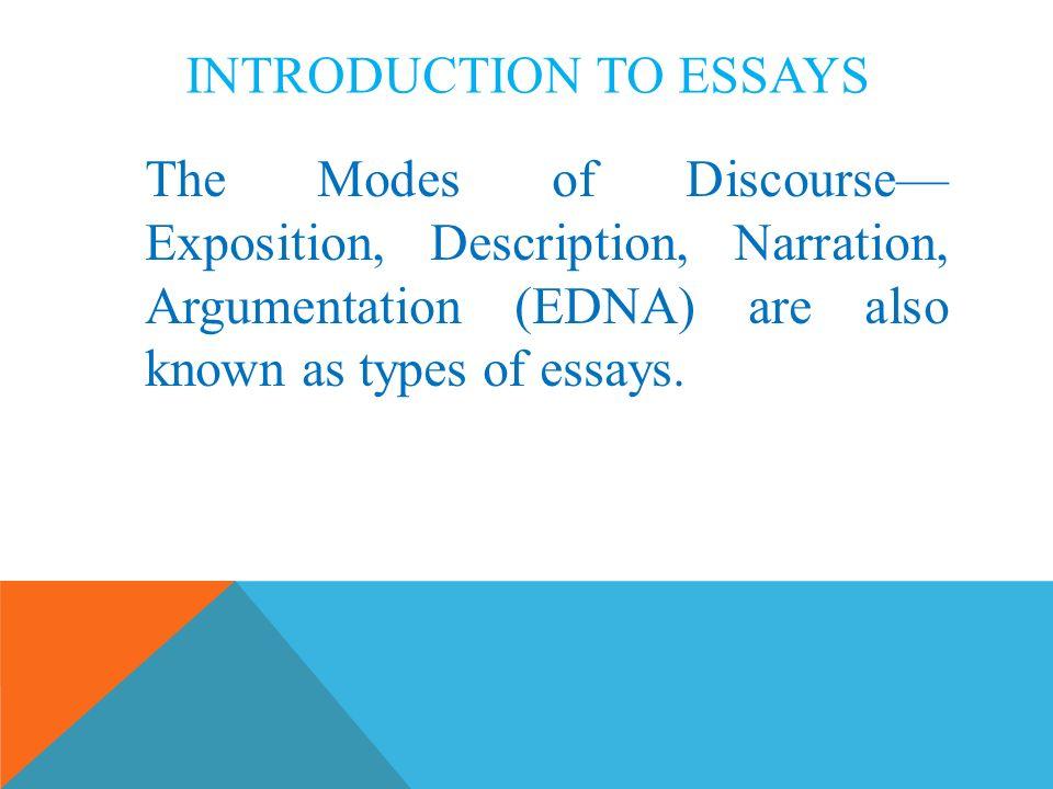 Expository discourse essay