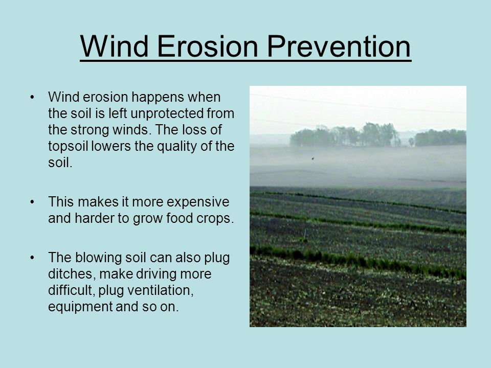 Erosion and weathering natural hazards ppt download for Soil erosion prevention