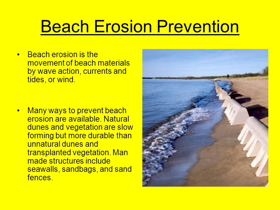 coastal erosion prevention Download document marseille, december 4th, 2017 – geocorail, an  innovative company specialized in the prevention of coastal erosion and the  protection.