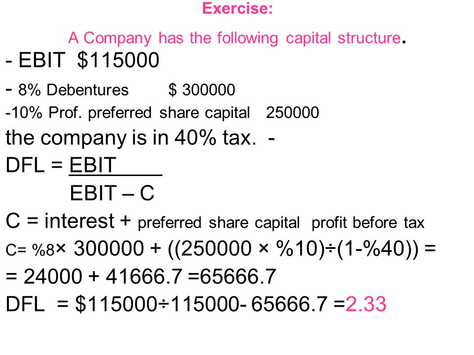 capital structure exercise Capital structure [chap 15 & 16] -1 capital structure [chapter 15 and chapter 16] • contents i introduction ii capital structure & firm value without taxes.