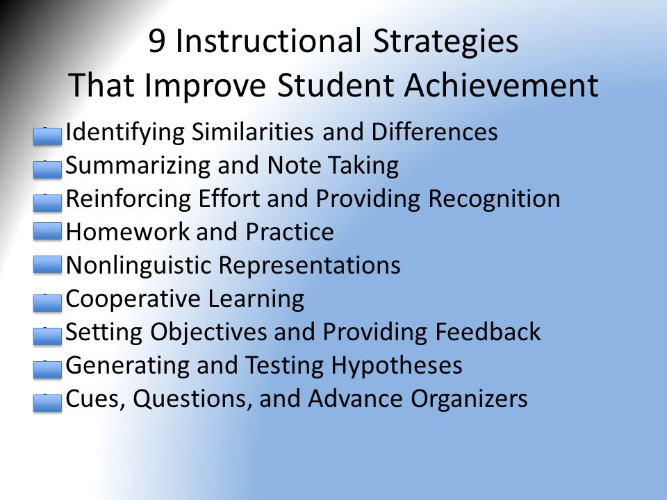 instructional strategies The first instructional strategies would be creating the right classroom climate  this is to assure that your students feel safe, secure and are engaged with their.