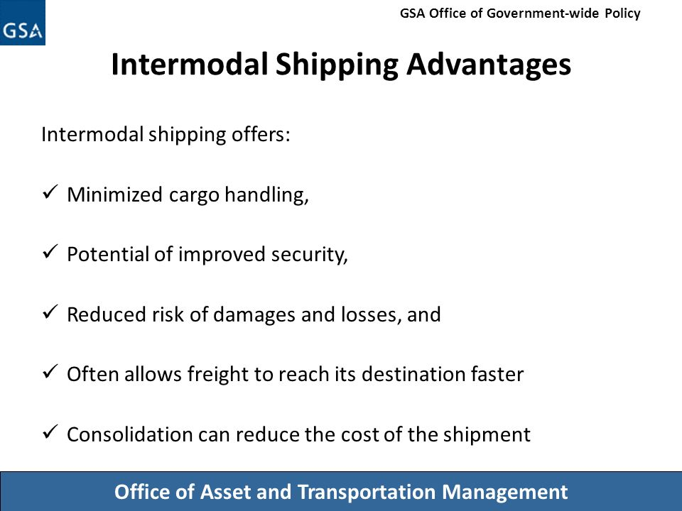 advantages and disadvantages of intermodal transport Some of the disadvantages of bundling are means more handling of container or   future of intermodal freight transport : operations, design and policy.