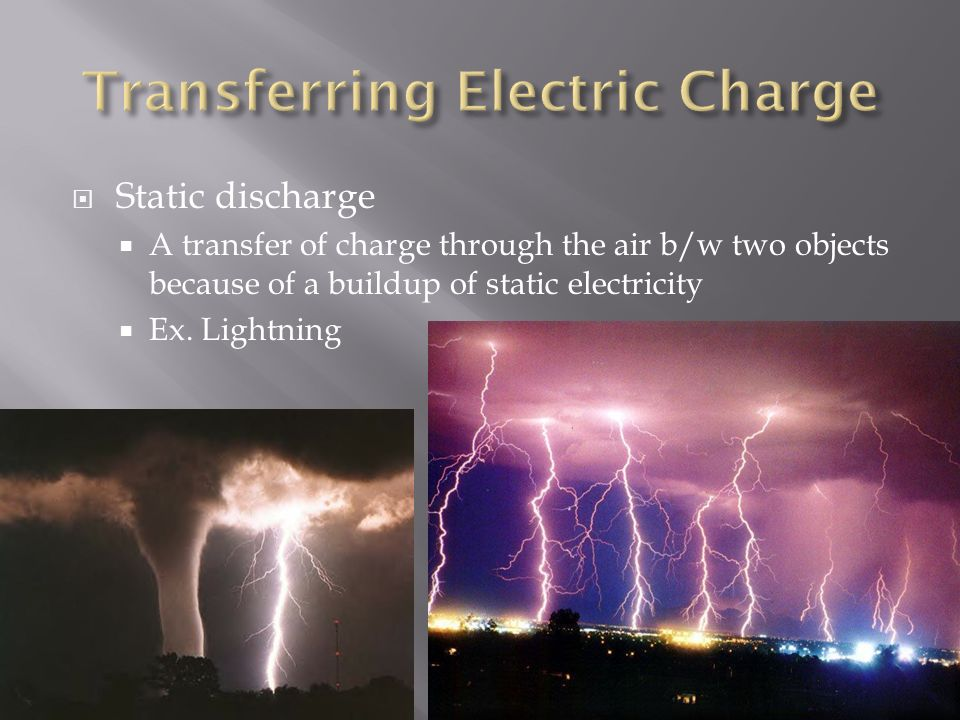 Transferring Electric Charge