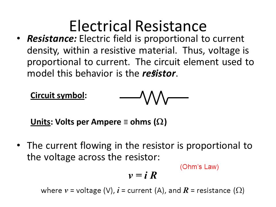 electrical resistance coursework
