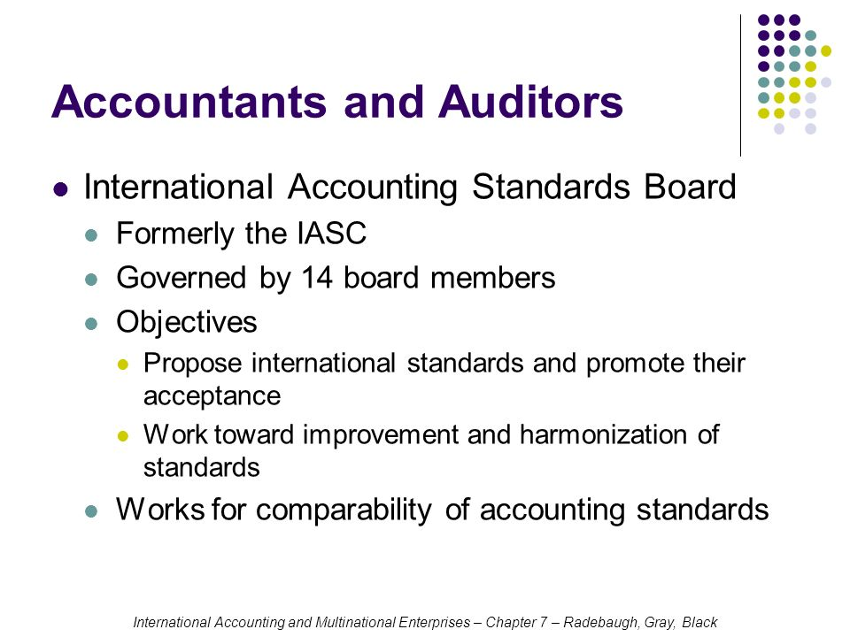 Harmonisation of accounting standards Essay Sample