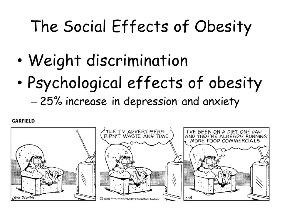 the increasing obese discrimination in the society People who are deemed overweight or obese (as the medical terms have it) or fat (as many fat activists prefer to call their body size) suffer discrimination, prejudice and humiliation from several.