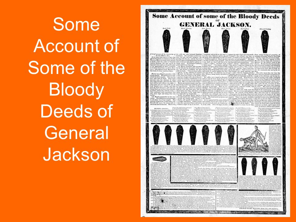 an account of andrew jacksons unruly rise to the presidency My account and ward sign in sign out list of camps list of camps name: location: camp andrew brown: big meadows, california.